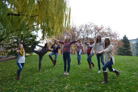 A group of a girls celebrating there day together. Photo courtesy, Zach Winn